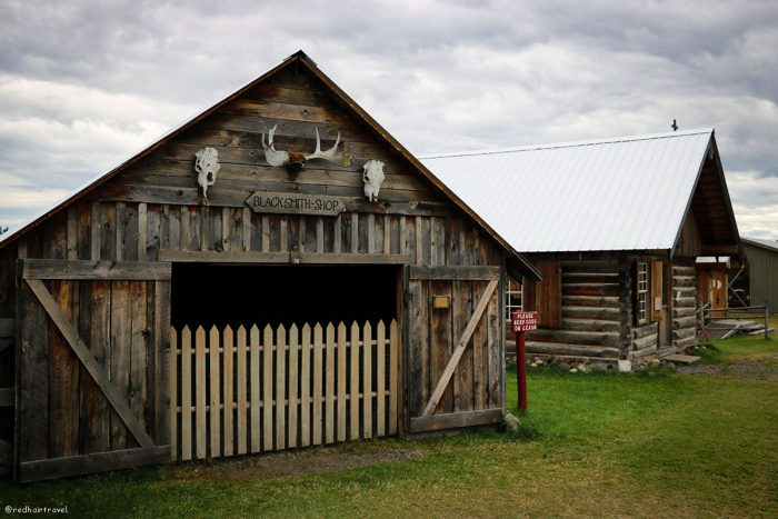 108 Mile House, маршрут по Gold Rush Trail