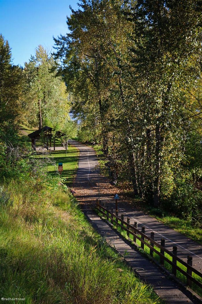 Quesnel, маршрут по Gold Rush Trail, BC