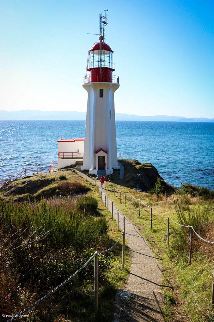 Ванкувер и Остров Ванкувер за 2 недели (маршрут), маяк