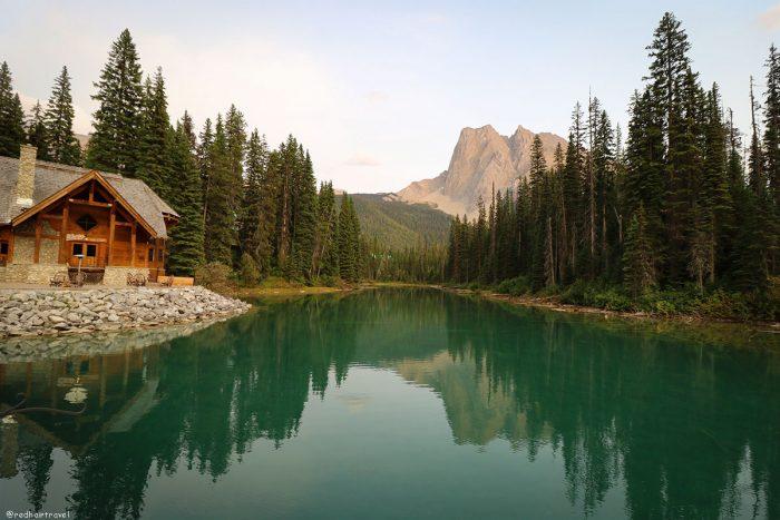 Emerald Lake, Yoho, маршрут по Скалистым Горам Канады