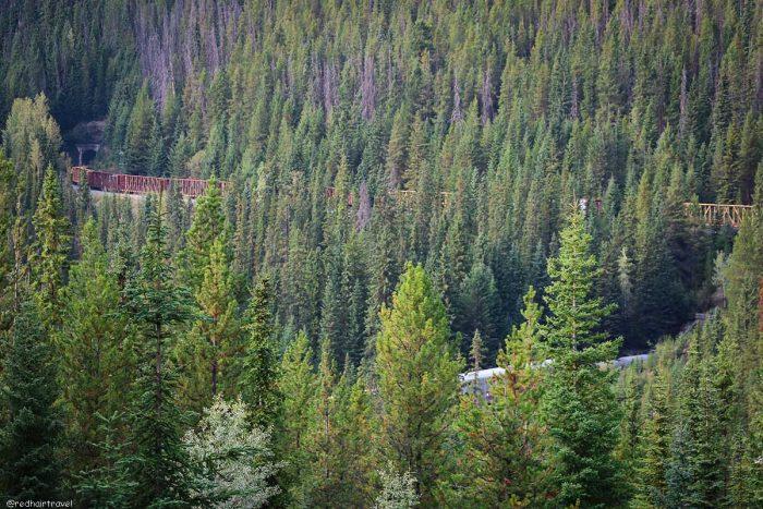 Yoho, pass, маршрут по Скалистым Горам Канады