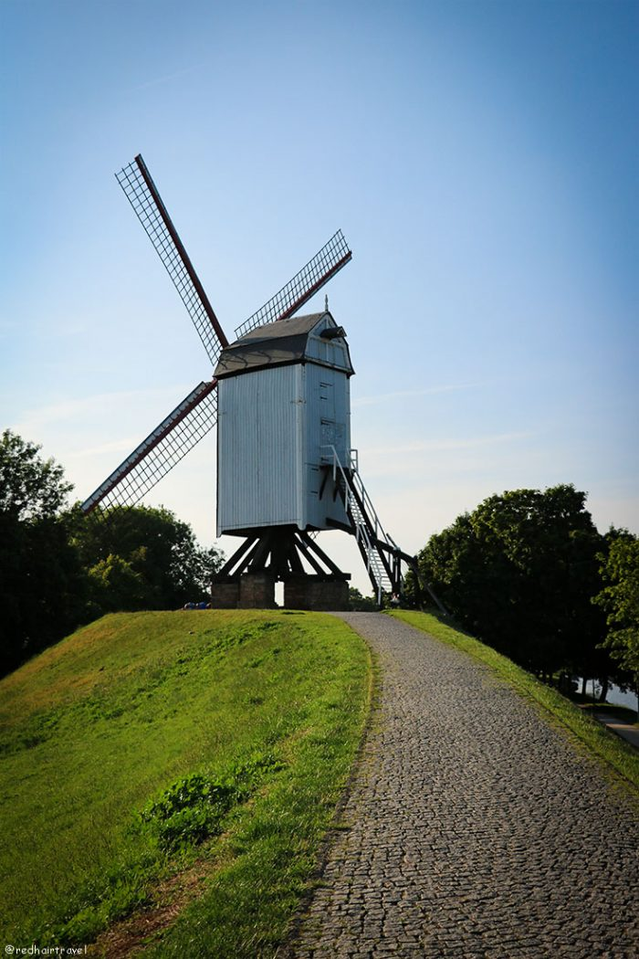 Брюгге, Бельгия, мельница