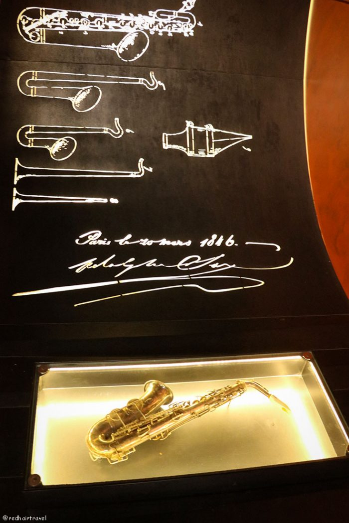 музей саксофона, Динан