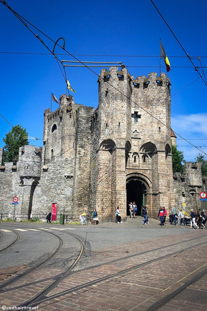 Гент, замок