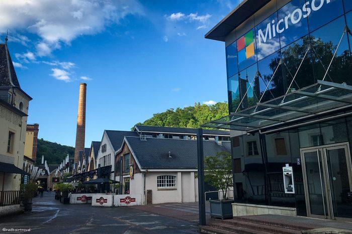 Rives de Clausen, Люксембург
