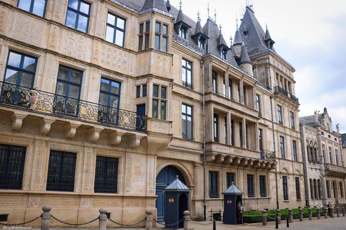 дворец, Люксембург