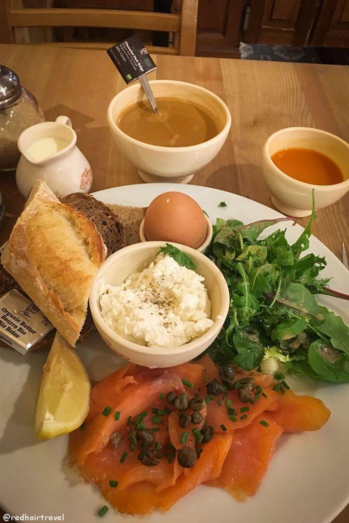 завтрак в Бельгии