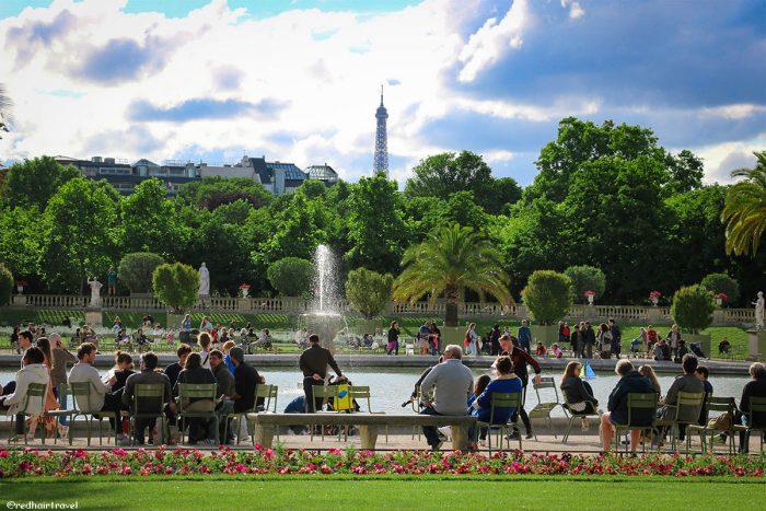 Люксембурский сад, Париж