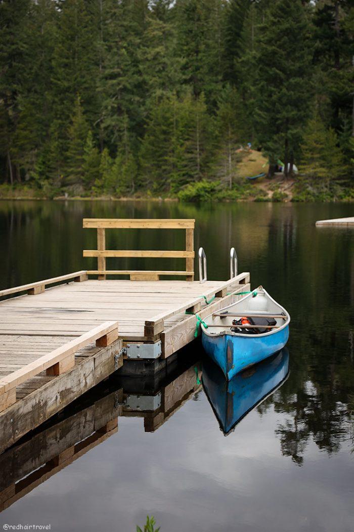 Wood Lake, Озеро Харрисон