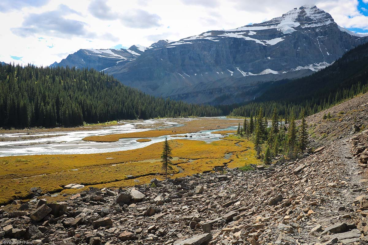 Парк Маунт Робсон, Berg Lake Trail