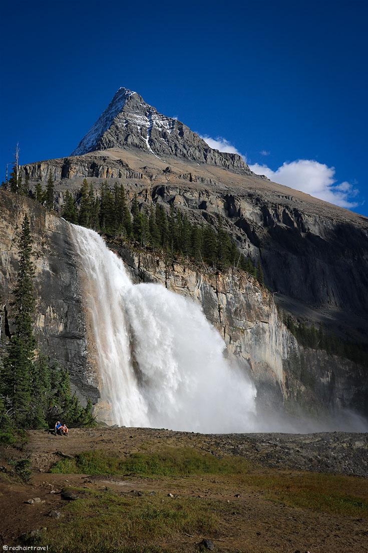 Emperor Falls, Mt Robson, BC