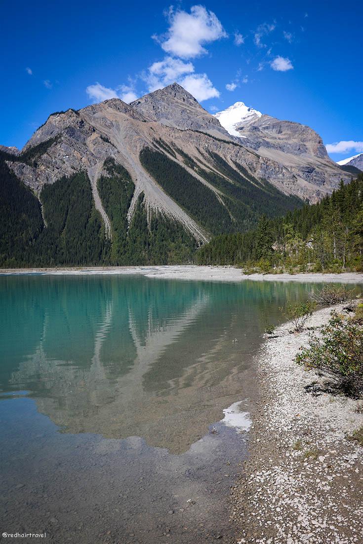 Berg lake Trail, Mt Robson, Canada