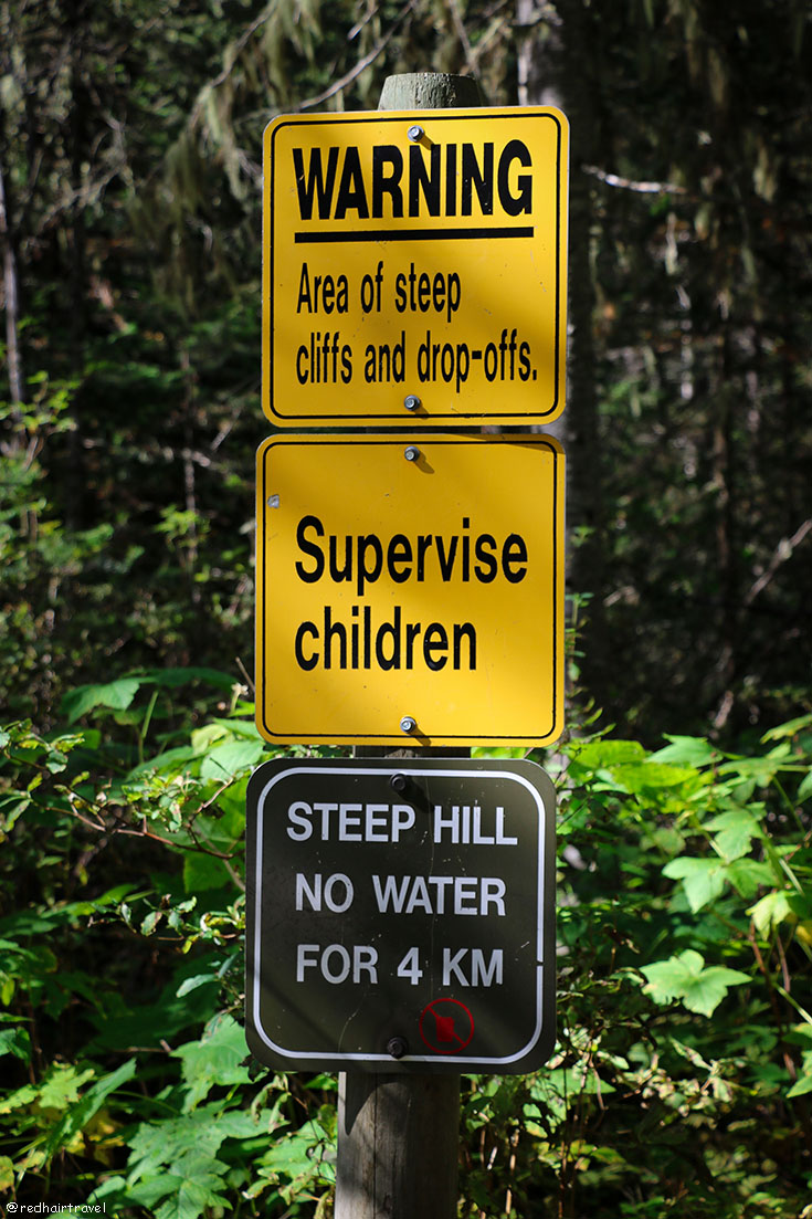Berg Lake trail, BC