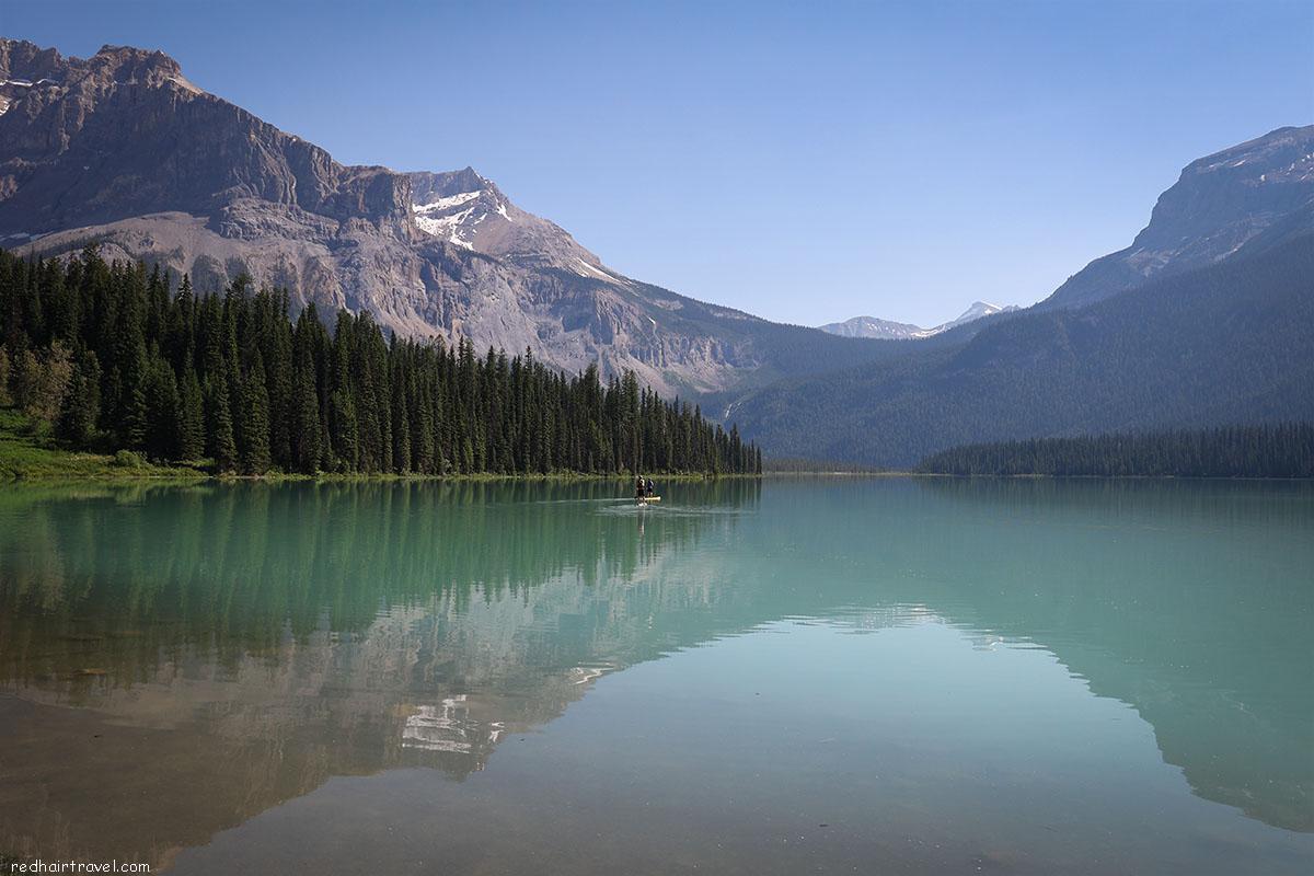 Emerald Lake, Йохо, Yoho, Rockies, Canada