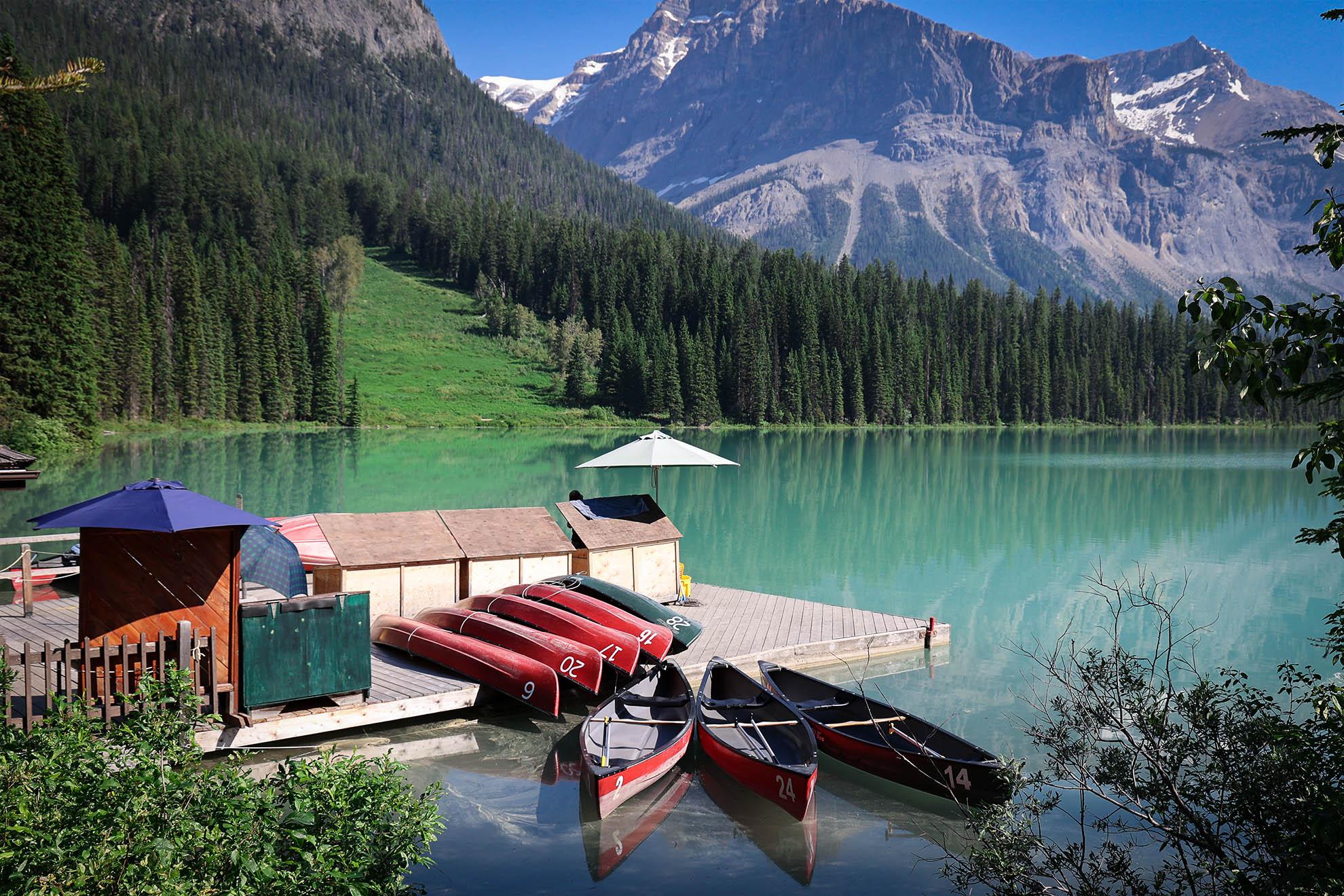 Emerald Lake, Yoho, Rockies, Canada